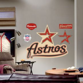 Fathead Houston Astros Logo Wall Decal