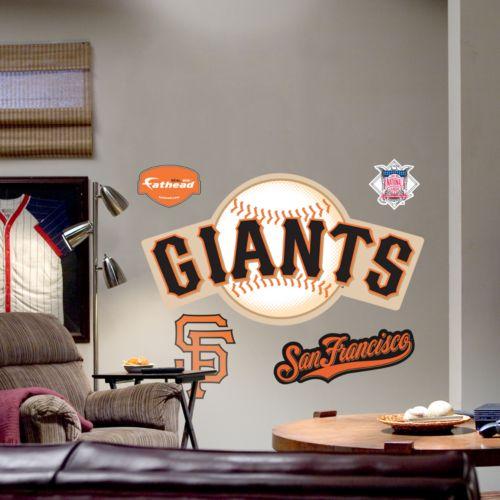 Fathead San Francisco Giants Logo Wall Decal