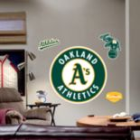 Fathead® Oakland Athletics Logo Wall Decal