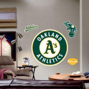 Fathead Oakland Athletics Logo Wall Decal