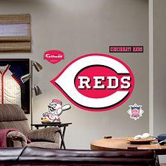 Fathead® Cincinnati Reds Logo Wall Decal