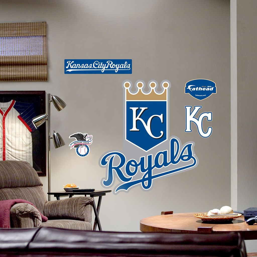 Fathead® Kansas City Royals Logo Wall Decal
