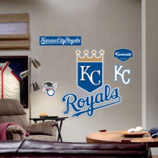 Fathead Kansas City Royals Logo Wall Decal