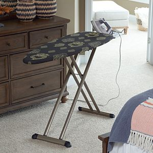 Household Essentials Deluxe Ironing Board With Hanging Board And Iron Rest