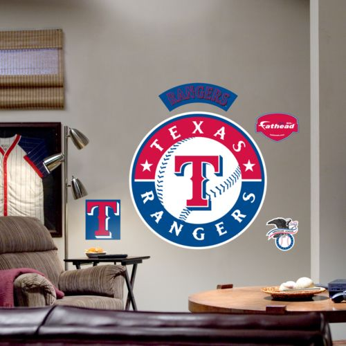 Fathead Texas Rangers Logo Wal...