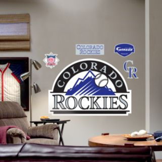 Fathead Colorado Rockies Logo Wall Decal