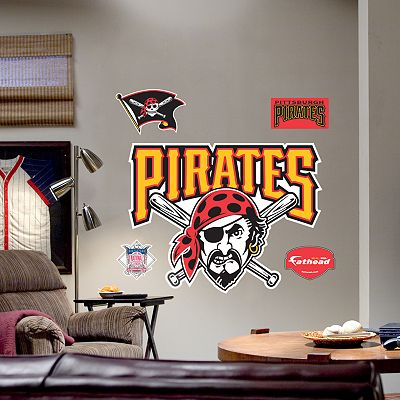 Fathead Pittsburgh Pirates Logo Wall Decal