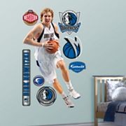 Fathead Dallas Mavericks Dirk Nowitzki Wall Decal