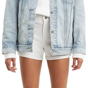 Women's Levi's® Mid-Length Cuffed Jean Shorts