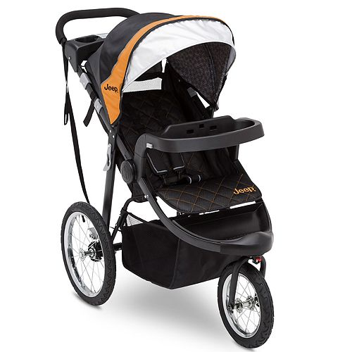 Jeep Deluxe Patriot Open Trails Jogger by Delta Children
