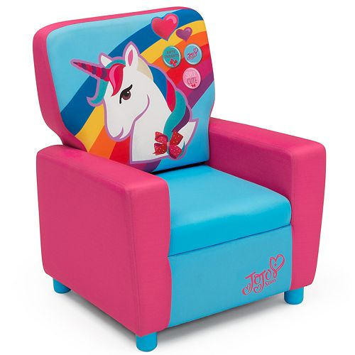 Delta Children JoJo Siwa High Back Upholstered Chair
