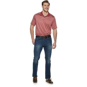 Big & Tall Croft & Barrow® Fitted Space-Dye Polo