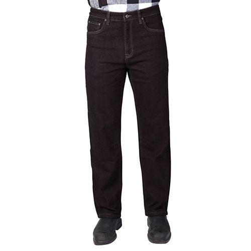 Men's Smith's Workwear Stretch Fleece Lined Jeans