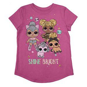 """L.O.L. Surprise Dolls """"Shine Bright"""" Graphic Tee"""