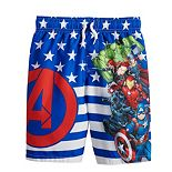 Boys 4-7 Marvel Captain American Swim Trunks