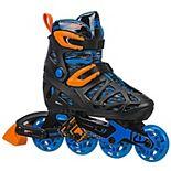 Roller Derby Tracer Boys Adjustable Inline Skates