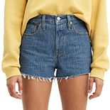 Women's Levi's® 501® Original Frayed Jeans Shorts