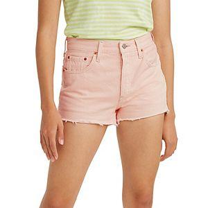 Women's Levi's® 501® Original Frayed Jeans Shorts