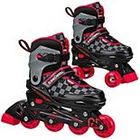 Roller Derby 2-N-1 Boys Inline and Quad Skates Combo