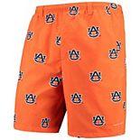 "Men's Columbia Orange Auburn Tigers PFG Backcast II 8"" Omni-Shade Team Hybrid Shorts"