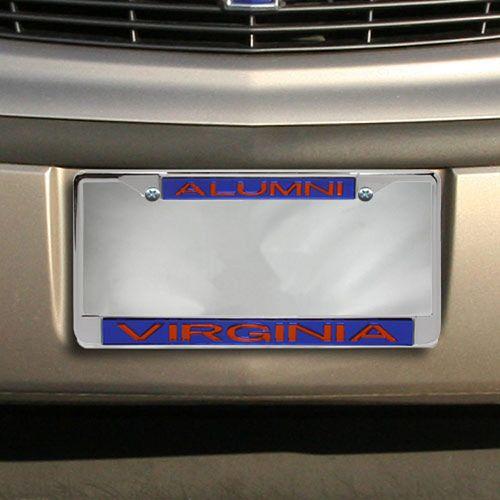 Virginia Cavaliers Alumni Chrome License Plate Frame