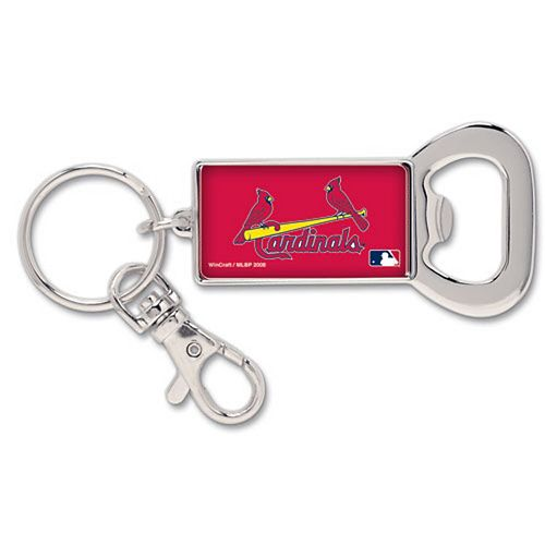St. Louis Cardinals WinCraft Bottle Opener Key Ring Keychain