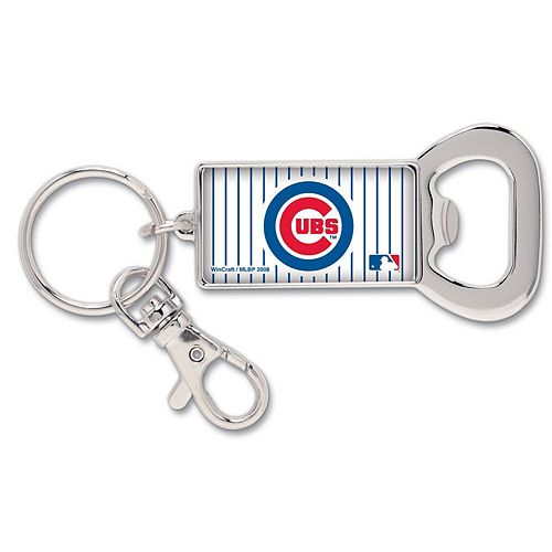 Chicago Cubs WinCraft Bottle Opener Key Ring Keychain