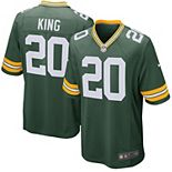 Men's Nike Kevin King Green Green Bay Packers Game Jersey