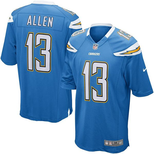 chargers allen jersey