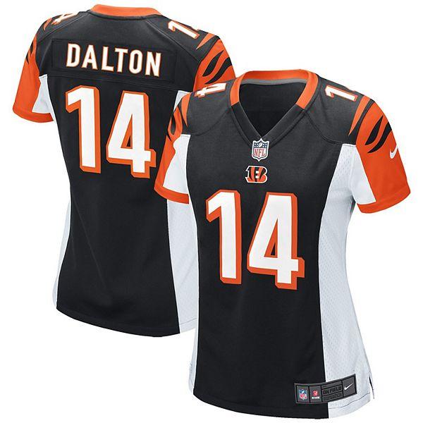 Women's Cincinnati Bengals Andy Dalton Nike Black Game Jersey