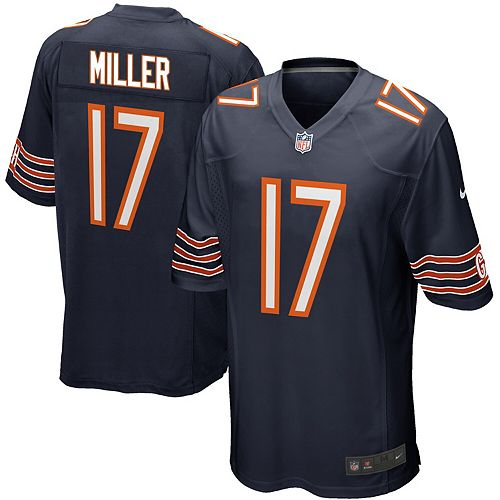 Men's Nike Anthony Miller Navy Chicago Bears Game Jersey