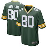Men's Nike Jimmy Graham Green Green Bay Packers Game Jersey