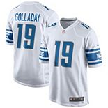 Men's Nike Kenny Golladay White Detroit Lions Game Jersey
