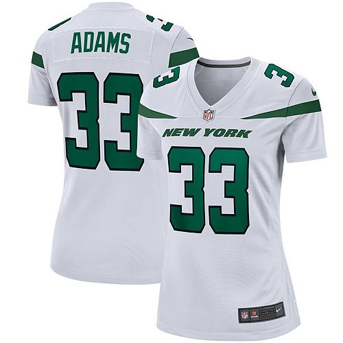 Women's Nike Jamal Adams Spotlight White New York Jets Game Jersey