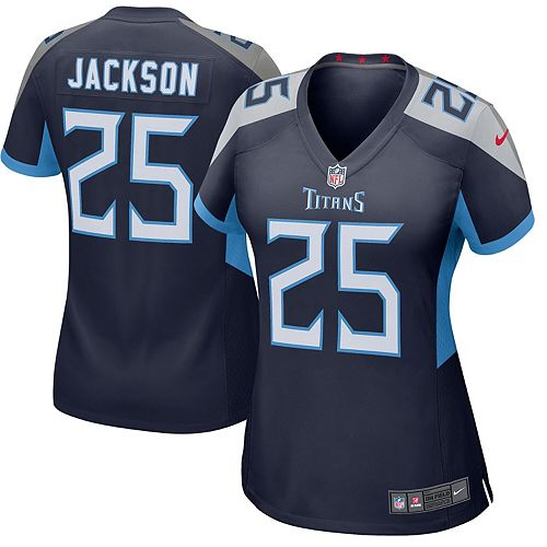 Women's Nike Adoree' Jackson Navy Tennessee Titans New 2018 Game Jersey