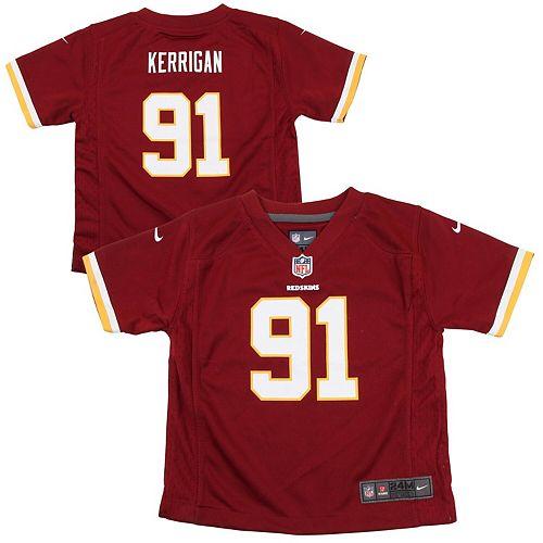 online store ad333 d6e55 Infant Washington Redskins Ryan Kerrigan Nike Burgundy Team Color Game  Jersey