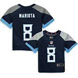 Infant Nike Marcus Mariota Navy Tennessee Titans Player Game Jersey