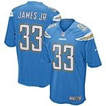 Men's Nike Derwin James Powder Blue Los Angeles Chargers Game Player Jersey