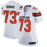 Women's Nike Joe Thomas White Cleveland Browns Game Jersey