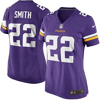 sale retailer fb386 82257 Women's Minnesota Vikings Harrison Smith Nike Purple Game Jersey