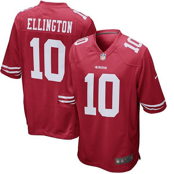 Men's Nike Bruce Ellington Scarlet San Francisco 49ers Game Jersey