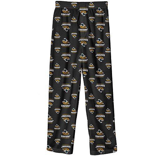 Preschool Black Jacksonville Jaguars All Over Printed Pajama Pants