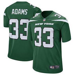 Men's Nike Jamal Adams Gotham Green New York Jets Game Jersey