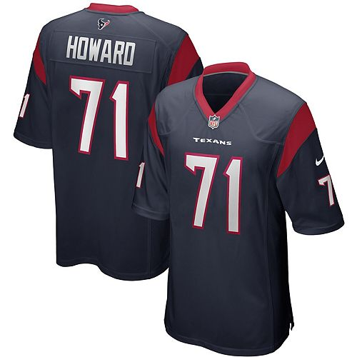 Tytus Howard Houston Texans Nike Game Jersey - Navy