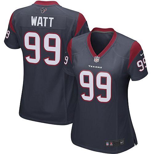 more photos 1a3d4 41db1 J.J. Watt Houston Texans Nike Women's Player Game Jersey ...
