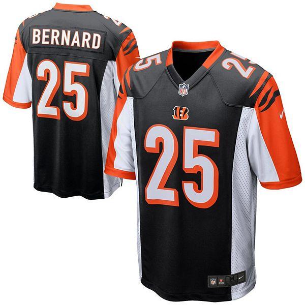 Mens Cincinnati Bengals Giovani Bernard Nike Black Game Jersey