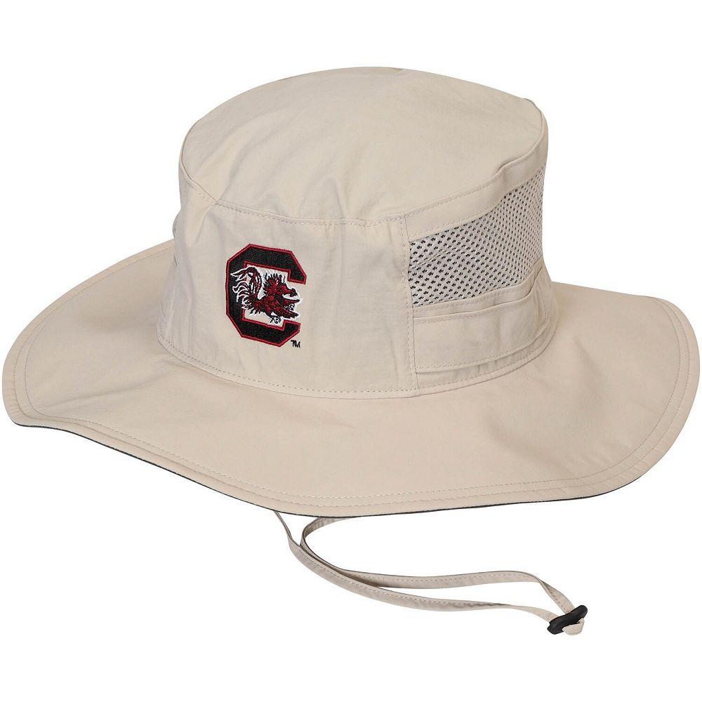 Columbia South Carolina Gamecocks Collegiate Bora Bora Booney II Gambler Hat - Natural