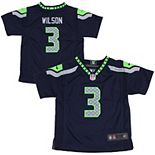 Infant Seattle Seahawks Nike Russell Wilson College Navy Team Color Game Jersey