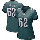 Women's Nike Jason Kelce Midnight Green Philadelphia Eagles Game Jersey