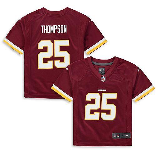 Preschool Nike Chris Thompson Burgundy Washington Redskins Player Game Jersey